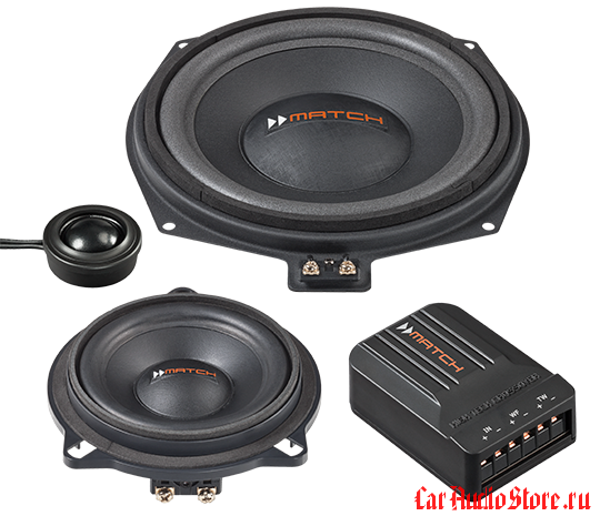 Audiotec Fisher Match MS 83C BMW