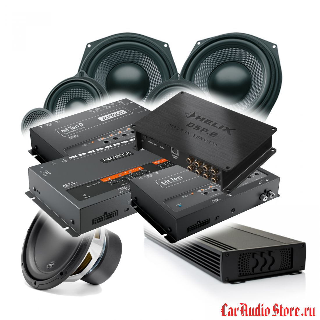 HIFI Kit DSP MTX 2 (MOREL)
